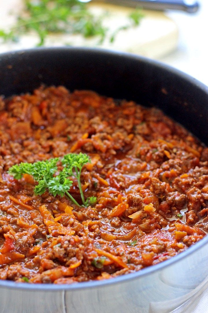 A simple recipe for a classic - spaghetti bolognese, and a fantastic way to sneak veges into dinner!
