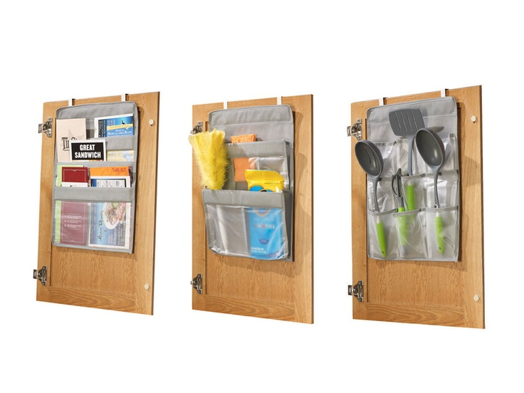 Over-the-Cabinet Organizers - smart: Diy Ideas, The Doors, Organizations Sets, Cabinet Doors, Cabinets Organizations, Blessings Organizations, Doors Organizations, Overthecabinet Organizations, Over The Cabinets Doors