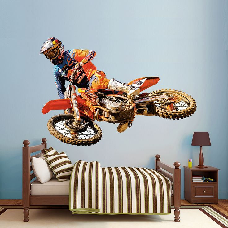 Best 25 motocross bedroom ideas on pinterest dirt bike for Decoration ktm
