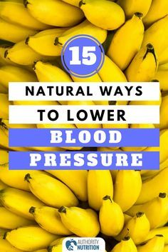 High blood pressure can lead to heart disease and stroke. Here are 15 simple ways you can lower your blood pressure naturally, without medication: https://authoritynutrition.com/15-ways-to-lower-blood-pressure/