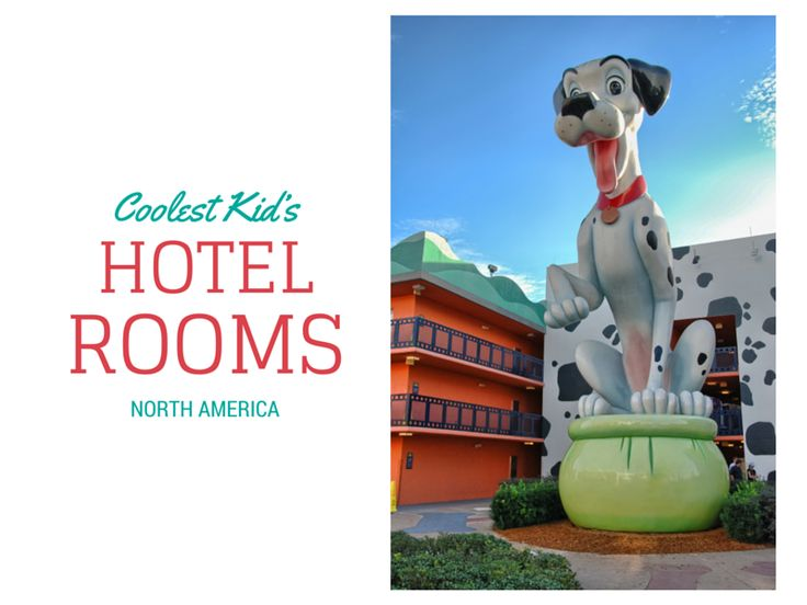 Coolest Kids Hotel Rooms