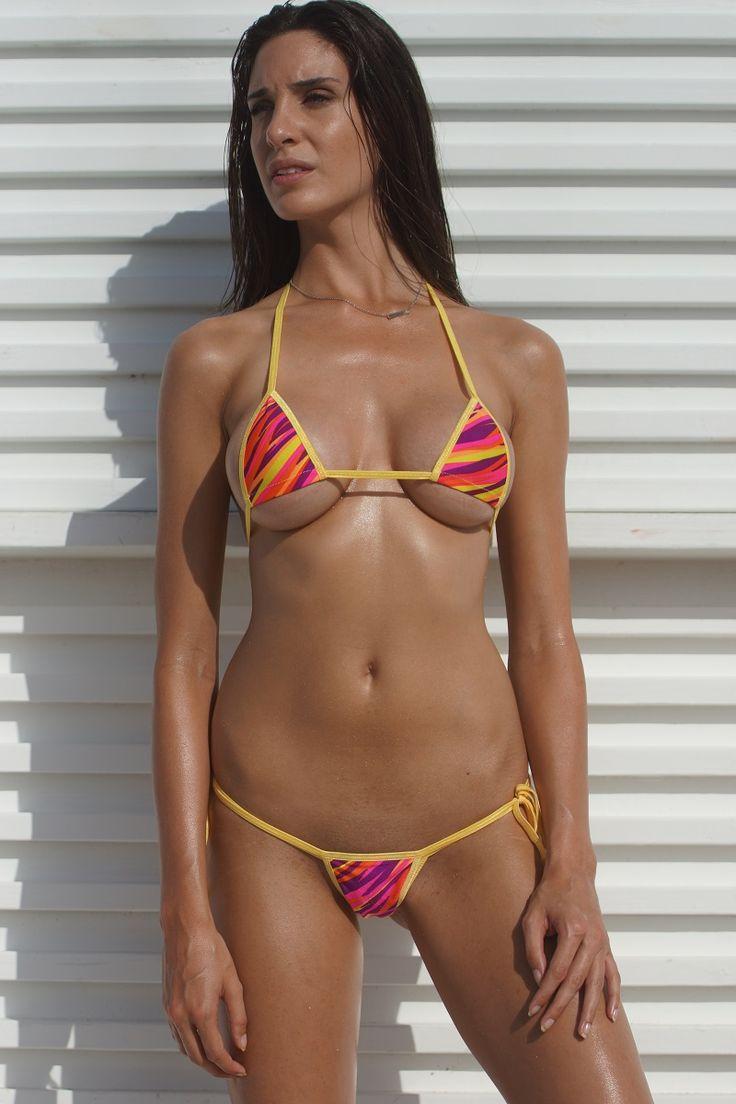 Black Vinyl Bikini Top