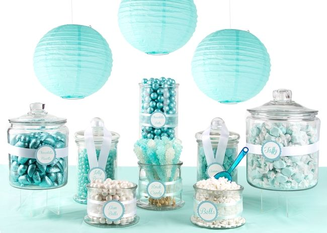 tiffany blue candy buffet large more