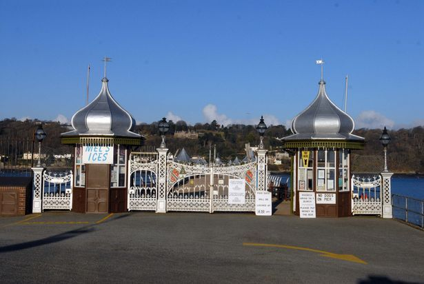 bangor wales images | Bangor pier funding bid is rejected by the Heritage Lottery Fund ...