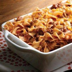 NO YOLKS(R) Beef Noodle Casserole - Allrecipes.com
