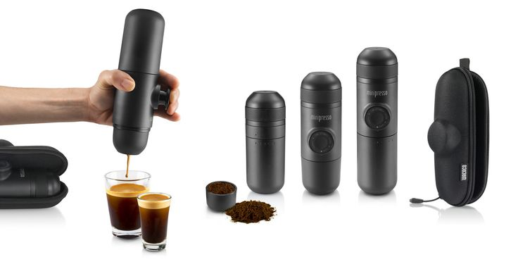 DESCRIPTION Minipresso GR is the perfect portable espresso machine. Compact, lightweight and versatile, you mayuse any variety of coffee bean/roast, which will