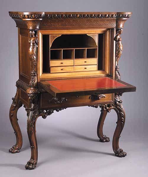 ~ G. J. Henkels Desk-on-Stand ~ nealauction.com
