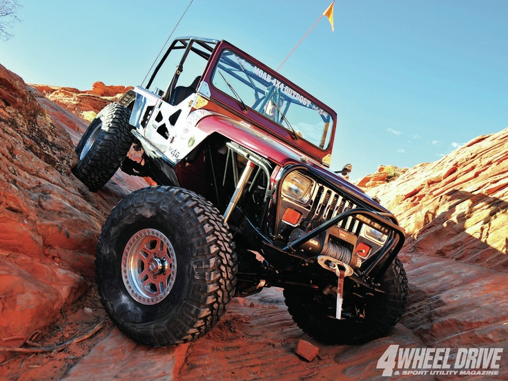 1987 #Jeep YJ Wrangler: Brownie - Steve Nantz's Moab Jeep Has Seen it All - Full Feature Here: http://www.4wdandsportutility.com/features/jeep/1301_4wd_1987_jeep_yj_wrangler_brownie/