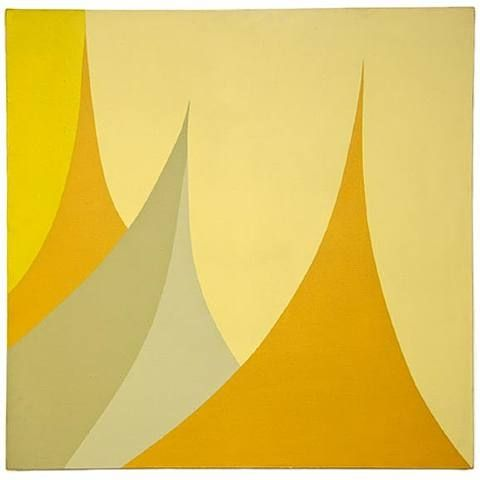 June Harwood, Untitled, circa 1964, acrylic on canvas, 36 x 36 inches