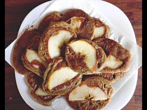 Kuchnia Ellie: Owsiane pancakes z jabłkiem - krok po kroku