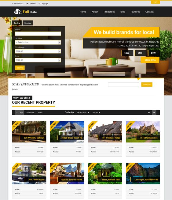 7 best 7 More of the Best Real Estate WordPress Themes images on ...