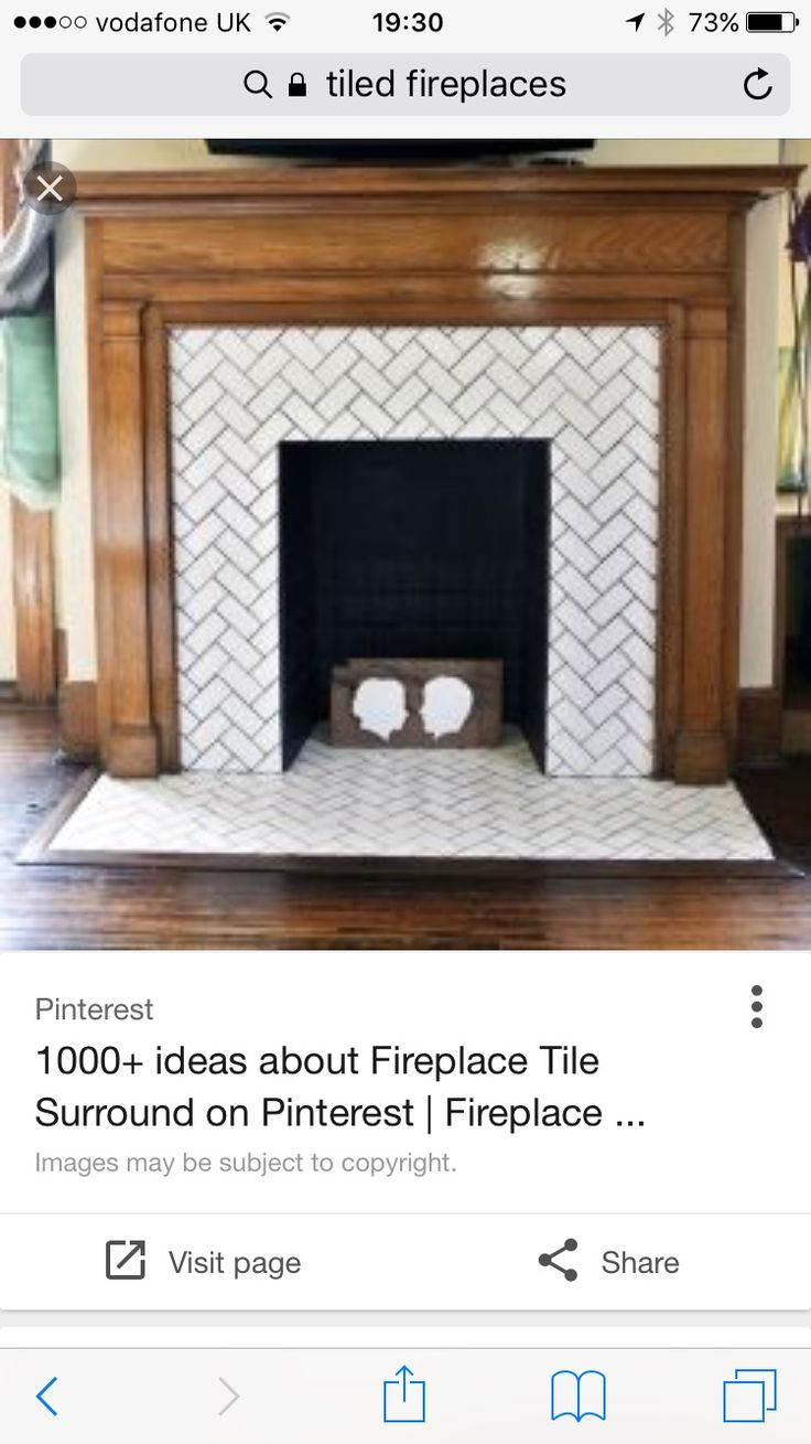 13 best fireplace images on pinterest mosaics fireplaces and herringbone fireplace darker wood or white mantel and marble herringbone tile doublecrazyfo Choice Image
