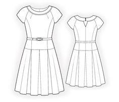 Schnittmuster kleid kostenlos download