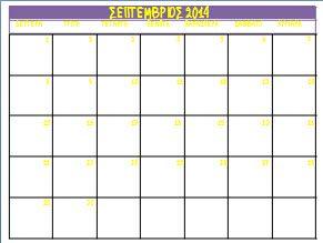 Ημερολόγια για το σχολικό έτος 2014-2015 για την τάξη ή το σπίτι