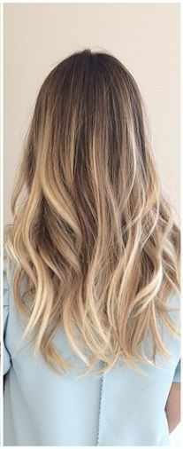 bronde hair color: