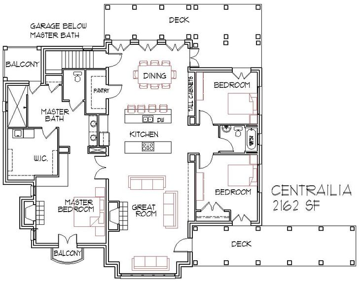 small home designs open floorplans large house find house plans - Large House Plans