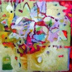 Olej na płótnie 100 x100 cm