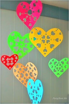 How To: Snowflake Hearts