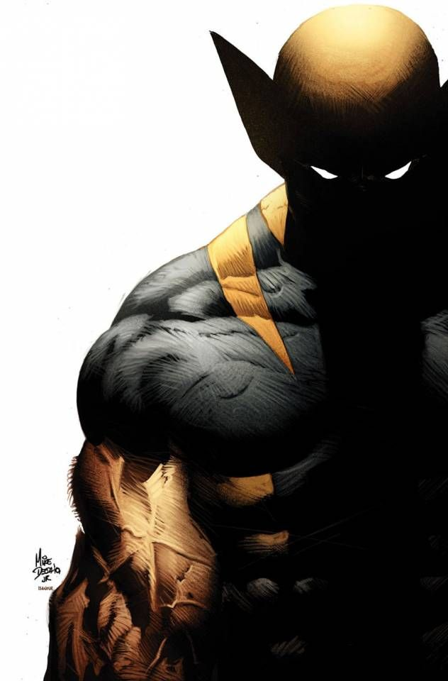 Ultimate Wolverine.. Killer! Mike Deodato Jr's Ultimate Wolverine costume, rejected by DC Batman lawsuit, if I remember correctly..