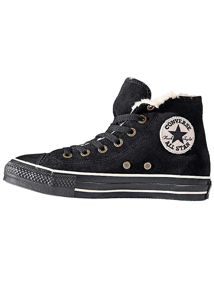 Converse 'All Star Hi Shearling' Leisure Boots - Fashionable leisure shoe  with warm lining.