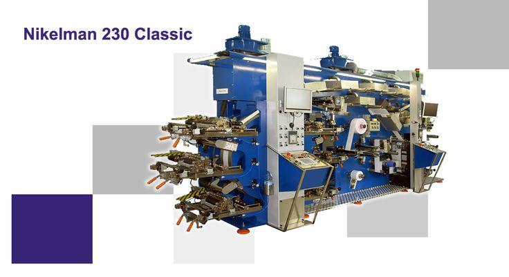 Nikelman® 230 Classic предназначена для высококачественной печати как в УФ технологии, так и красками на основе растворителей и водными. Это решение позволяет подобрать тип красок к требованиям печати, и благодаря тому значительно снизить расходы при работе.  #nikelman #machining #flexography