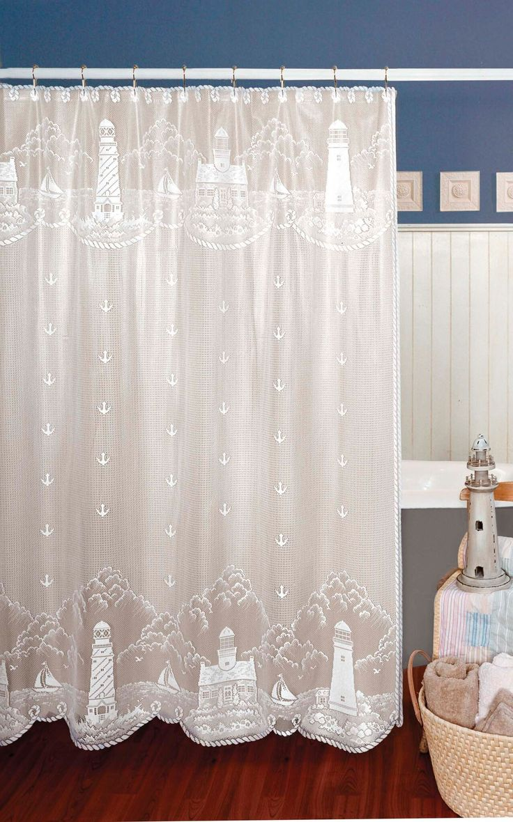 Under the sea peva shower curtain blue walmart com - Lighthouse 72