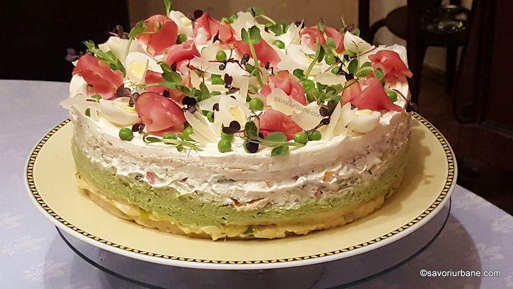 cel mai bun tort aperitiv reteta pas cu pas