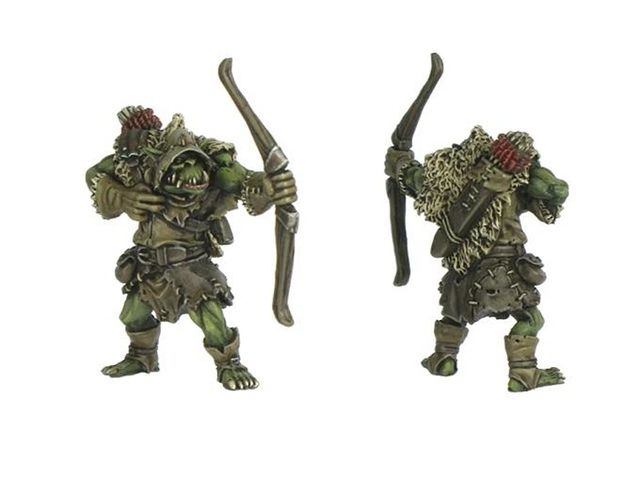 Dungeon Saga: The Dwarf King's Quest by Mantic Games — painted ork miniature