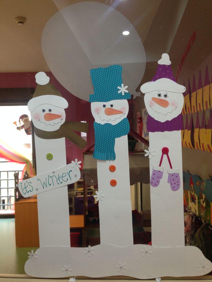 Snowmen ⛄️ craft