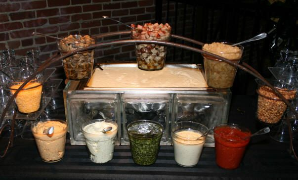 Party Food Warmers ~ A grits bar easy cheap and delicious for party food