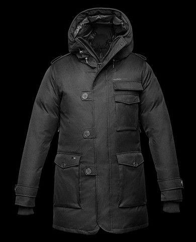 Nobis Men's Shelby Jacket in Crosshatch Black