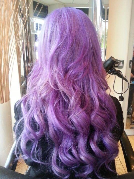 purple haze fudge #hair