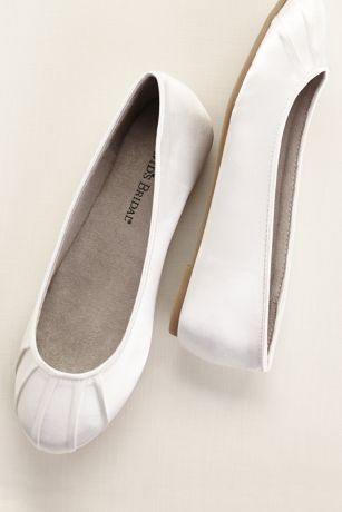 Dyeable Shoes Bridal Stores And Ballet Flats On Pinterest