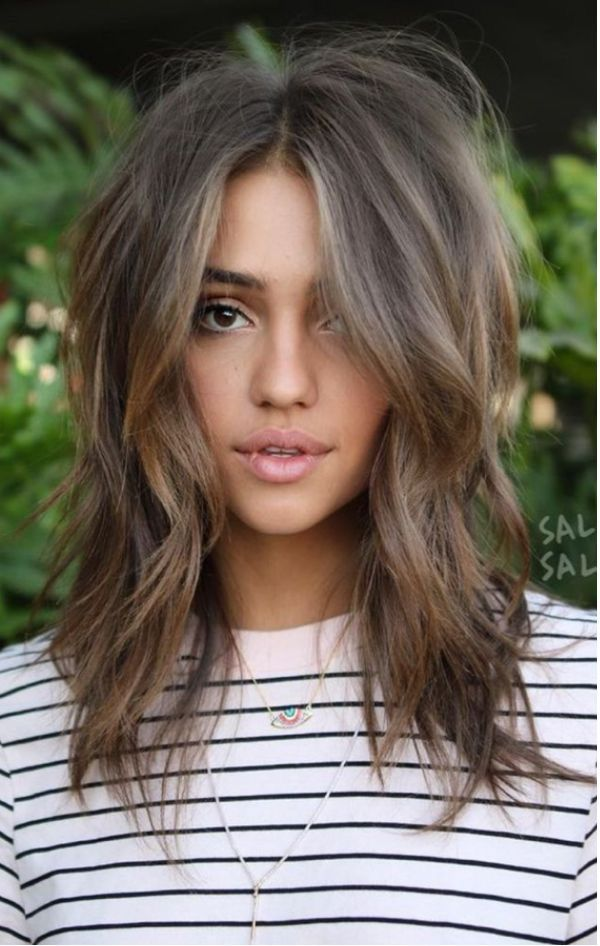 Omg love the color and cut! Wish my hair could do that