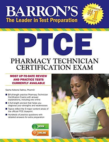 33 best exam prep guides images on pinterest number beauty barrons ptcepharmacy technician certification exam by sacha koborsi tadros pharmd this brand new manual prepares pharmacy technicians for the test that a fandeluxe Image collections
