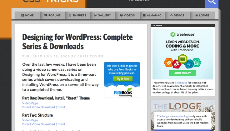 4 Tutorials To Help You Build WordPress Themes | SMFAPLUS - The Online IT Plus Magazine