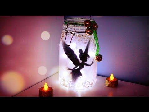 How to Make - Tinker Bell Fairy Jar - YouTube Bananajamana