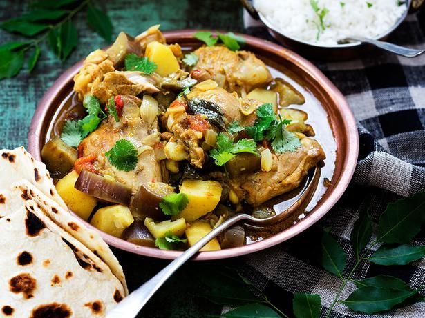 Chicken And Potato Curry Recipe Viva Curries Pinterest