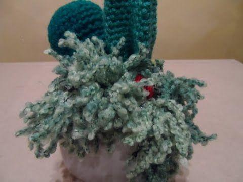 Tutorial de crochet/ganchillo,cactus peludito. - YouTube