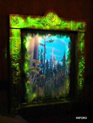 Magic Mirror transforming