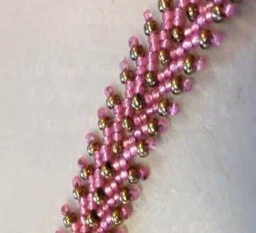 * St. Petersburg Stitch Bracelet - #Seed #Bead #Tutorials