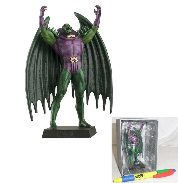ANNIHILUS Lead METAL Figure 01 Marvel EAGLEMOSS Collection MINT BOX No Magazine #EAGLEMOSS