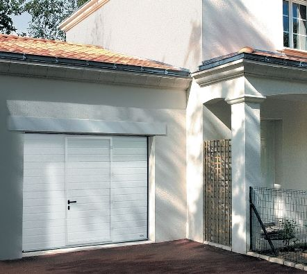 Garage Doors with Pedestrian Doors - Wicket Door - Hormann, Cedar, Rundum, Vertico & Silvelox UK