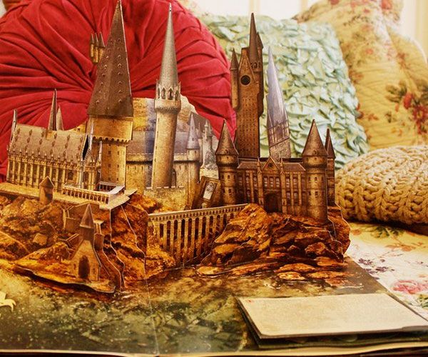 Experience all the magic of the wizardry world when you begin reading the Harry Potter pop-up book. This brilliantly illustrated book provides a detailed account of the perilous adventures Harry Potter and the gang encounter through their studies at Hogwarts.