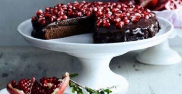 Συνταγή για γιορτινή σοκολατόπιτα