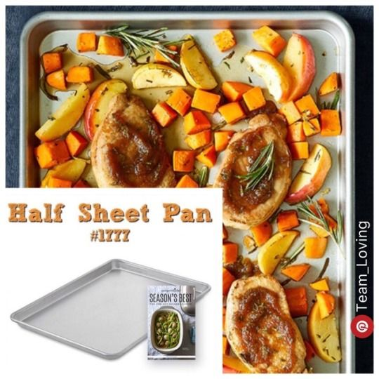 Half Sheet Pan - Pampered Chef, great for sheet pan dinners,family meals, meal prep, etc