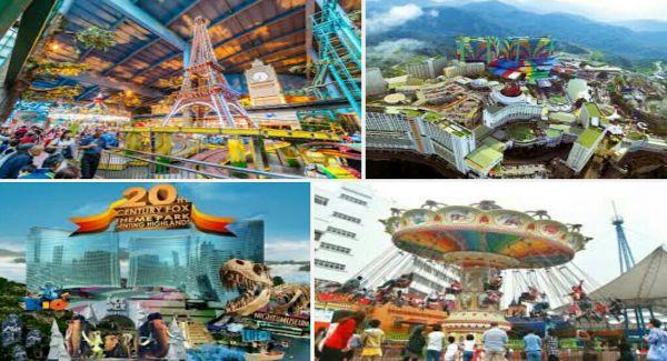 Wisata Genting Theme Park Malaysia