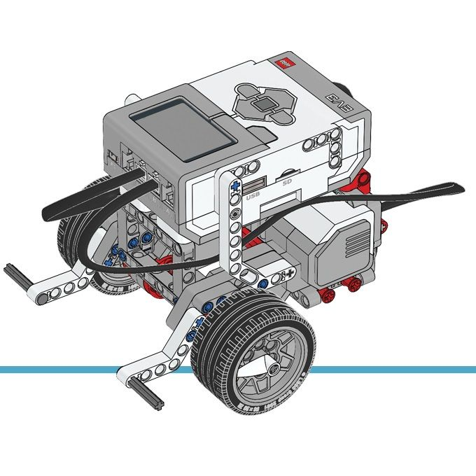 Robot tutorials that are found in the ev3 education software but in PDF format