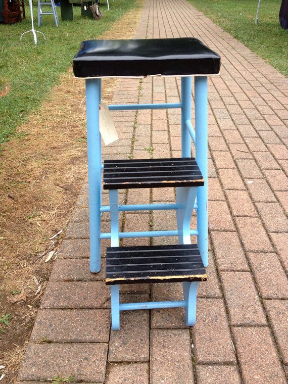Combination Stool And Step Ladder