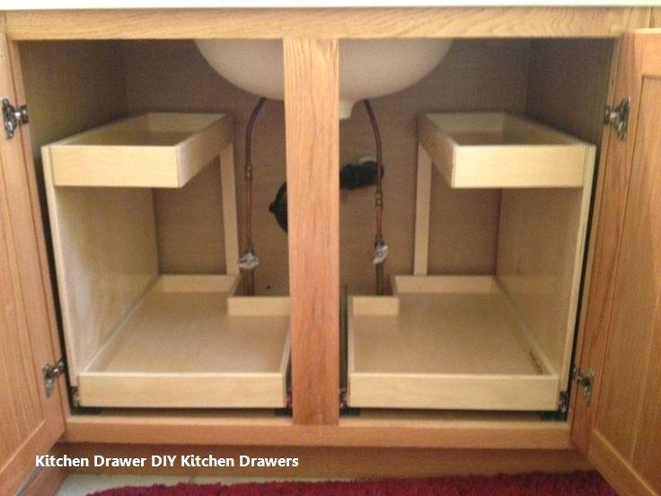 New Diy Kitchen Drawer Ideas Kitchendrawer Kitchen Cabinet Storage Kitchen Sink Storage Diy Kitchen Shelves